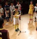 門川町スポーツ少年団結団式